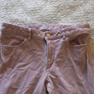Pink Loft Pants. Great Used Condition. Womens Sz 6